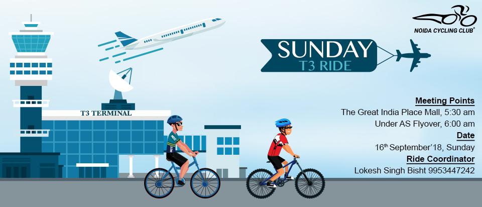 Sunday: T3 Ride | Noida Cycling Club